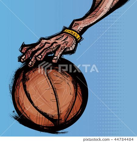 體育,球員,插圖 44784484