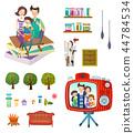 家庭,爱,插图 44784534