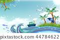 自然,植物,插圖 44784622