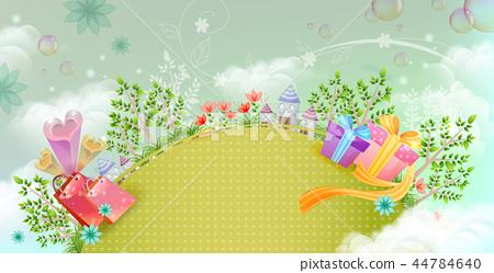 自然,植物,插圖 44784640