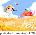 兒童,同心,插圖 44784796