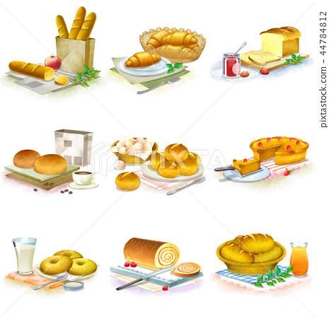 食物,象,例證 44784812