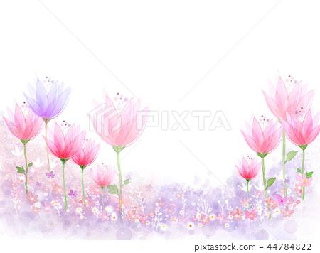 花,秀麗,例證 44784822