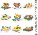 อาหาร, ไอคอน, ภาพประกอบ 44784830