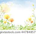花,秀丽,例证 44784857