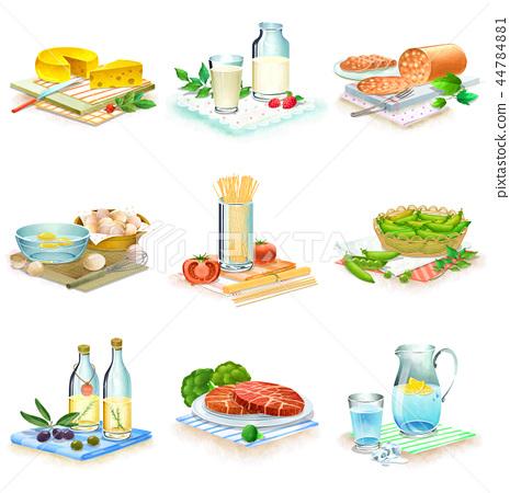 食物,象,例證 44784881