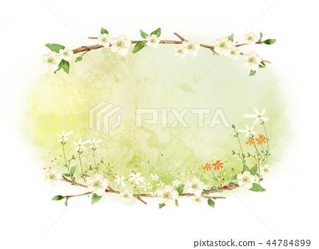 花,秀麗,例證 44784899