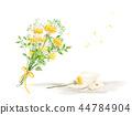 花,秀丽,例证 44784904