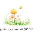 花,秀丽,例证 44785011