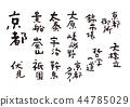 Kyoto brush character 44785029