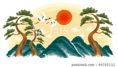 New Year, New Year, Illustration 44785112