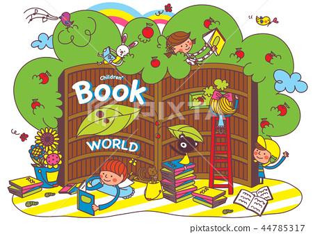 兒童,教育,插圖 44785317