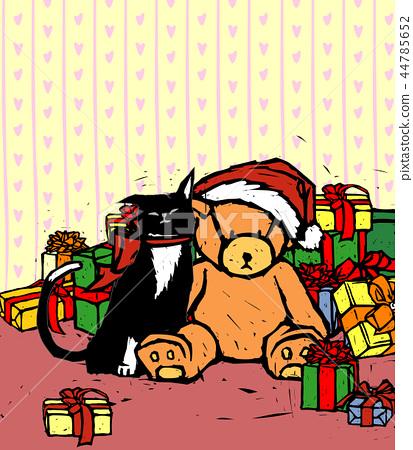 聖誕節,例證 44785652
