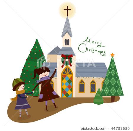 聖誕節,例證 44785680
