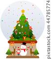 冬天,插圖 44785774