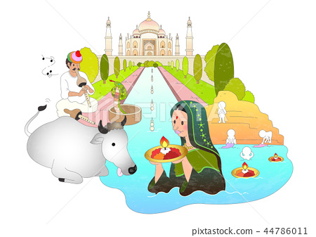 Travel, abroad, illustration 44786011