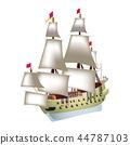 一艘帆船 44787103