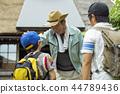 爺爺和孫子 44789436