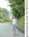 男孩在暑假 44789535