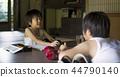做家庭作業的男孩暑假 44790140