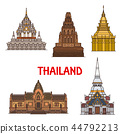 Thailand travel landmarks and temples 44792213