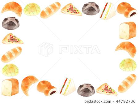 frame, baker, backdrop 44792736