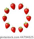 草莓CG草莓草莓白色BG 44794025