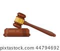 judge, ceremonial, hammer 44794692