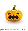 Crying Halloween pumpkin 44796823