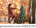 孩子 圣诞节 圣诞 44802584