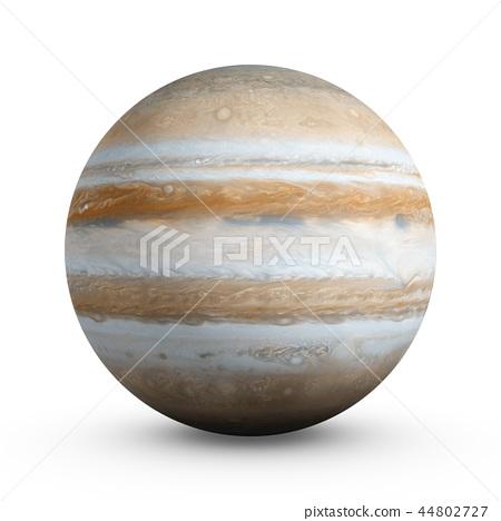 3D Rendering Planet Jupiter isolated on white 44802727