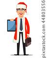 business man Santa 44803556