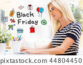 sale, shopping, woman 44804450