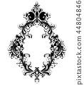 mirror, frame, baroque 44804846