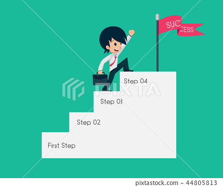 Salary Man 01 Go up to the Success Point 44805813