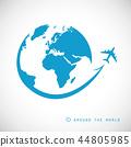 world, plane, earth 44805985