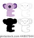 koala, bear, animal 44807044