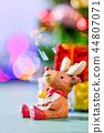 圣诞节 圣诞 圣诞树 圣诞装饰 光晕 散景 クリスマス 晕け Christmas bokeh 44807071