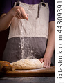 dough, cooking, knead 44809391