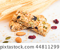 nut, granola, seeds 44811299