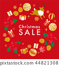 크리스마스 세일 포스터 44821308