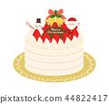 聖誕節材料3蛋糕 44822417