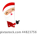 Christmas Santa claus cartoon smile  44823756