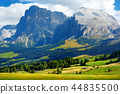 Seiser Alm, largest high altitude Alpine meadow 44835500