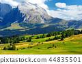 Seiser Alm, largest high altitude Alpine meadow 44835501