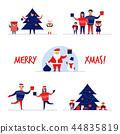 cartoon, character, Christmas 44835819