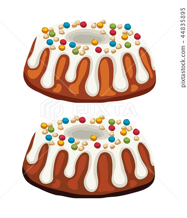 vector homemade cakes 44835895