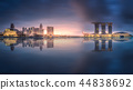 Business district and Marina bay in Singapore 44838692