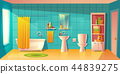 bathroom interior, room with furniture 44839275
