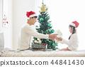 聖誕節,爸爸,女兒,家庭,韓國人 44841430
